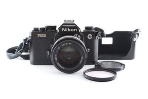 ◇◆ 美完動品 ニコン Nikon New FM2 FM2N 一眼レフ 35mm フィルムカメラ + Ai-s AIS 50mm f1.4 レンズ 動作確認済 0900 ◆◇