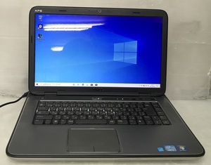 ●柄あり天板 GT540M搭載 15.6型 DELL XPS 15 L502X (4コア Core i7-2670QM 2.2GHz/8GB/750GB/Blu-ray/Wi-Fi/Webカメラ/Windows10)