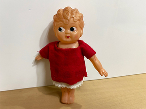 当時物 オキュパイドジャパン ベティちゃん セルロイド 人形 Made in Occupied JAPAN 全長約15cm 札幌市 白石区