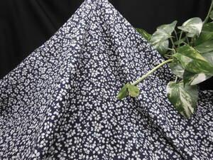新入荷!掘り出し品!日本製!高級ブランドオリジナル!なかなか手に入らない!糸細上質綿100%!小花柄ローンプリント!110cm巾×2m