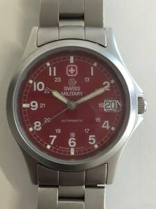 (2122)稼働品 スイスミリタリー SWISS MILITARY 自動巻 オートマチック 腕時計