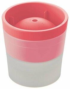 ピンク ライクイット ( like-it ) 製氷皿 アイスボールメーカー Ф7.5×高7.5cm ピンク 日本製