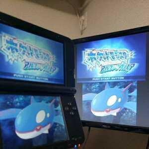 箱あり ゲーム実況用3DSLL ブルー スターターパック 配信 偽トロ キャプチャ可能
