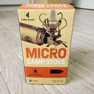 イワタニ(iwatani) ガスバーナー マイクロキャンプストーブ FW-MS01