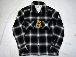 GANGSTERVILLE ジャックチェックシャツ(XL)オールドクロウ ギャングスタービル GLADHAND グラッドハンド WEIRDO ウィアード OLD CROW