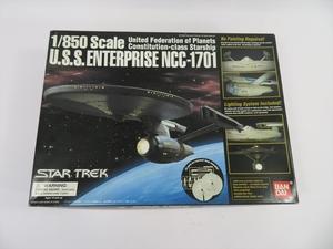 プラモデル 未組立 1/850 U.S.S. エンタープライズ NCC-1701 STAR TRECK スター・トレック 送料無料c42