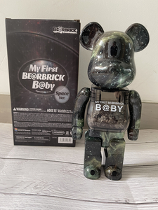 MY FIRST BE@RBRICK B@BY Space ver. 400% 280mmTall メディコム トイ MEDICOM TOY コレクション