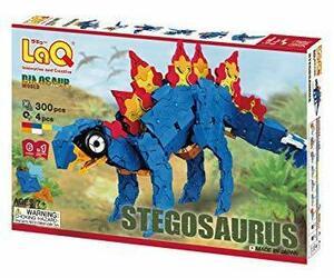 限定価格!ラキュー (LaQ) ダイナソーワールド(DinosaurWorld) ステゴサウルスZVGY