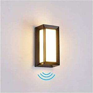 限定価格! 暖白 Ameelie LED 人感センサー 玄関ライト ポーチライト ウォールライト ブラケットライト アウト95Z5