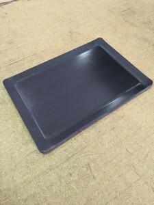 即日発送 鉄板  6ミリ×210×300(mm)  四方曲げ A4サイズ