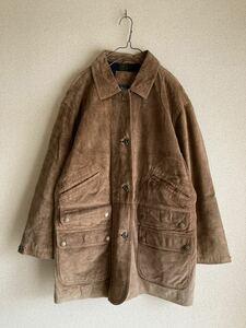 LAUREN ローレン レザージャケット スウェード Ralph Lauren ラルフローレン vintage ヴィンテージ 90s 90年代