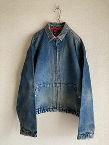 Polo Ralph Lauren ポロ ラルフローレン デニムジャケット Gジャン ブルゾン vintage ヴィンテージ 90s 90年代 雰囲気