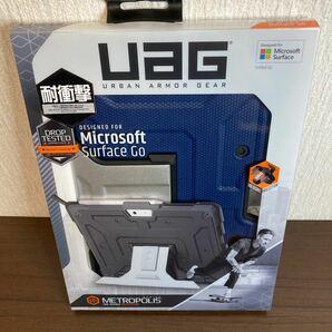Surface Go Metropolisケース UAG コバルト タブレットPCケース