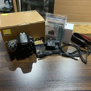 Nikon ニコン D800 ボディ 動作確認 シャッター確認済み 中古品