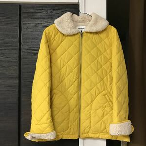 ニコアンドゆったりLサイズ4ジャンパー キルティングコート ダウンジャケット ハーフコート ボアniko and着丈60身幅46
