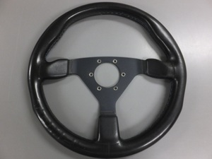 [ secondhand goods, present condition sale ] personal personal made TOMEI steering gear black 35Φ steering wheel rare that time thing