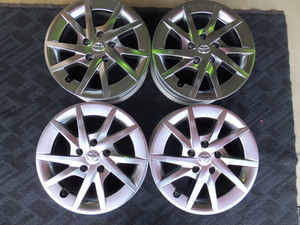 [ used, present condition sale ] Toyota TOYOTA Prius α high gloss specification 6.5J-16 5/114.3 +39 original wheel 4 pieces set