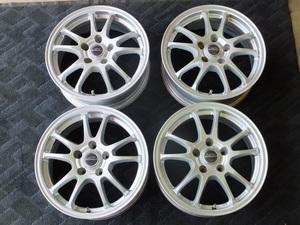 [ used, present condition sale ] Bridgestone eko form SE-10 6.5J-16 5/114.3 +46 4 pieces set Isis Noah VOXY Estima Camry