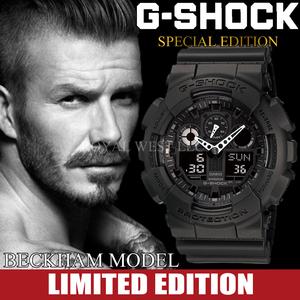 1円~×3本 ベッカム Beckaham G-shock Gショック 精悍なフルブラック 逆輸入 新品未使用 本物200m防水メンズ腕時計カシオCASIOミリタリー
