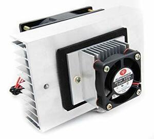 シルバー 冷却ユニット 温冷庫 ペルチエ式 DC12V ポータブル 保温庫 冷却効果大 ペルチェ式 【SANCTUS】 冷温庫