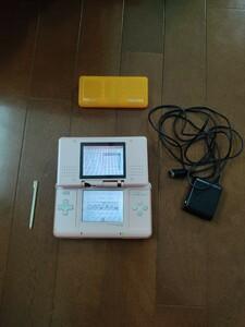 (動作確認済み)ニンテンドーDS ピンク 充電器、タッチペン付き 任天堂DS Nintendo DS