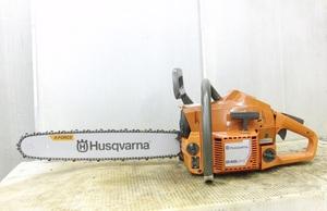程度〇 Husqvarna / ハスクバーナ 名機 46cc ヒータ付プロ用 246XPG