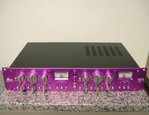 動作品 美品 現状 dbx 162SL 2ch コンプレッサー リミッター Compressor Limiter ヒビノ正規品 PSE ⑤