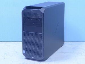 HP Z4G4 Xeon W-2125 メモリ64GB 512GB SSD NVMe HDD1TBx2 RAID マルチ Quadro P620 Windows11 Pro for Workstation