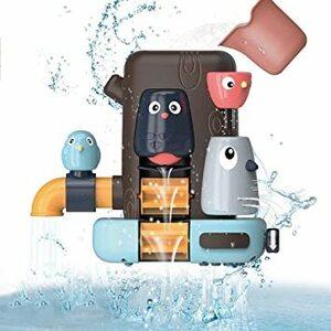 2021新型 お風呂 おもちゃ 水遊び おもちゃ新しく設計されたお風呂のおもちゃ 女の子 男の子 キッズ かわいい動物 水スプレ