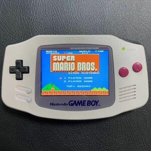 ゲームボーイアドバンス GBA 本体 バックライト funnyplaying ips 液晶
