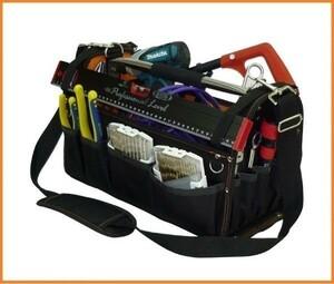 【期間限定】DBLTACT オープンキャリーバッグ DT-SRB-420 工具バッグ ショルダーバッグ 携行型工具袋 ツールX9VO