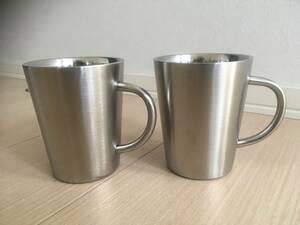 ステンレス マグカップ 2個セット
