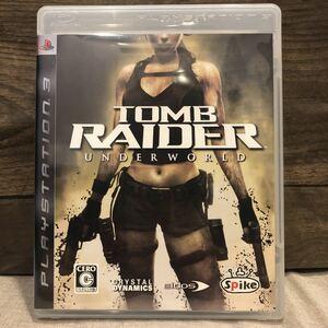 「トゥームレイダー:アンダーワールド」 PS3ソフト 中古