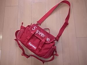 ★ 20SS SUPREME シュプリーム Waist Bag ウエストバッグ ショルダーバッグ 2WAY バッグ BOX LOGO ボックスロゴ (ダークレッド赤)GSGE