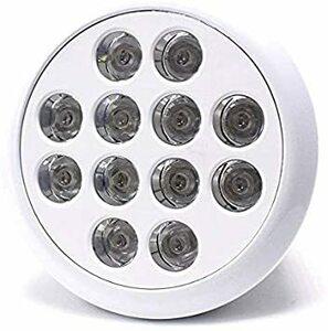 青8紫外線4灯 LED アクアリウムライト 24W 青8 紫外線4 水槽照明 水草 サンゴ 熱帯魚 観賞魚 植物育成