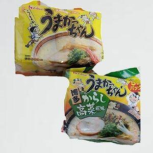 好評 新品 10食セット(オリジナル5食+辛子高菜風味5食) うまかっちゃん N-B7 計10食お買い得セット