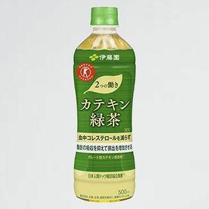 新品 未使用 2つの働き [トクホ]伊藤園 W-CW 500ml ×24本 カテキン緑茶