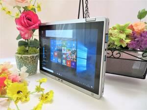 美品 Let's note RZ5 タブレットPC 限定◆爆速/SSD128GB◆フルHD Core M3-6Y30ターボ 4GB 4スレ◆10.1型W/無線/カメラ◆Office2019◆Win10