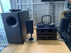 【動画あり】BOSE ボーズ RA-18 DVA-18 CD/DVDプレーヤー チューナーレシーバー 2006年製リモコン付き中古現状