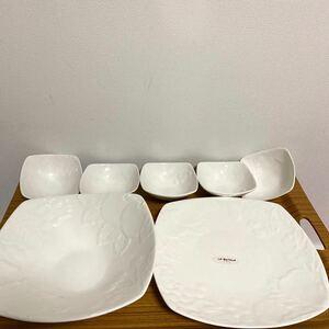落合務 イタリアン シェフ 白 食器 セット パーティーボール LABETTOLA 大鉢 小鉢 プレート ホワイト