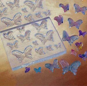 3D バタフライ 蝶々 シリコンモールド
