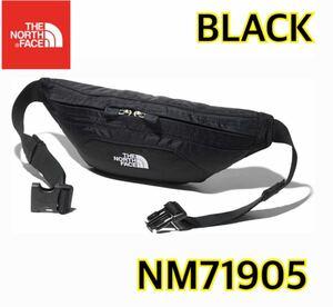 【新品】 THE NORTH FACE ノースフェイス グラニュール ボディバッグ 黒 ブラック nm71905