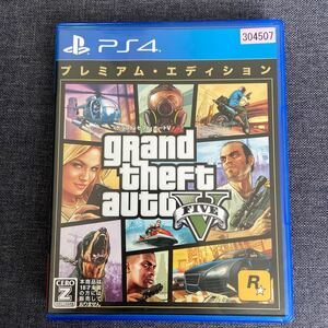 【PS4】 グランド・セフト・オートV プレミアム・エディション