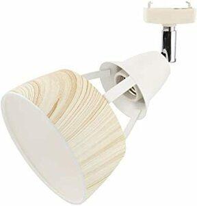 ◆大人気◆ナチュラル Jiya 引っ掛シーリング用 スポットライト おしゃれ 1灯 木目調シェード LED対応 E26口金 天井照明 北欧