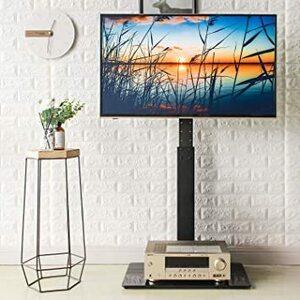 ◆大人気◆黒 32~65インチ Rfiver 液晶テレビスタンド 壁寄せTV スタンド 32-65インチ対応 ラック回転可能 左右角度調節