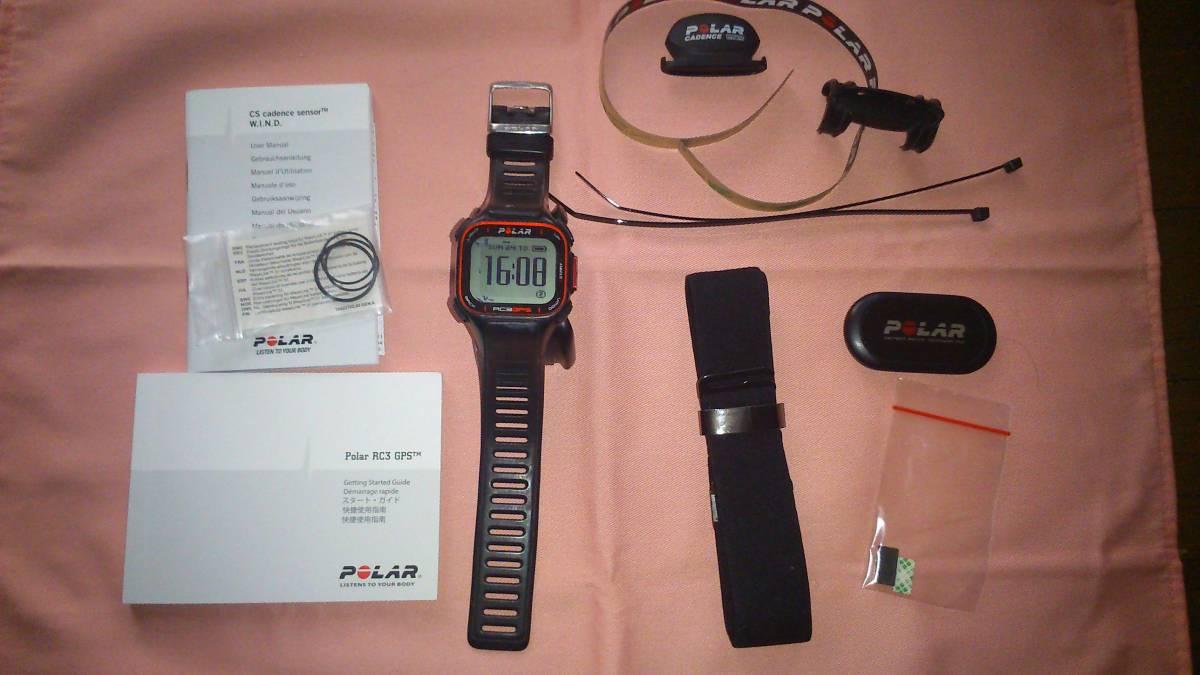 ★☆POLAR RC3 GPS BIKE with Heart Rate Sensor☆★