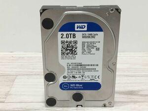 WDC WD20EZRZ-00Z5HB0 HDD 2000GB 2TB 3.5インチ SATA[G0293]