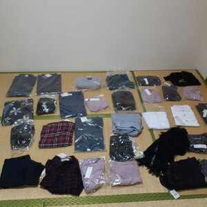 衣料品店在庫品 女性用衣類コスプレ衣装 トップス 大量セット