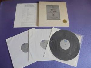 バッハ 「ロ短調 ミサ曲」輸入LPレコード3枚組