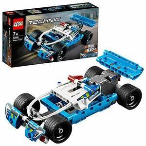新品★本日限り★レゴ(LEGO) テクニック 追跡パトロールカー 42091 知育玩具 ブロック おもちゃ 男の子 E0LO